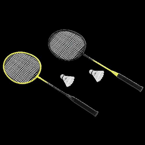 KRAFLA Fun 300 Набор для бадминтона: ракетка (2 шт), волан (2 шт) KRAFLA Fun 300 Набор для бадминтона: ракетка (2 шт), волан (2 шт) - вид 1