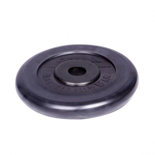 Диск обрезиненный Титан d 26 мм чёрный 25 кг 1067 - вид 1