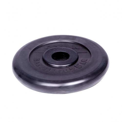 Диск обрезиненный Титан d 31 мм чёрный 25 кг 1074 - вид 1