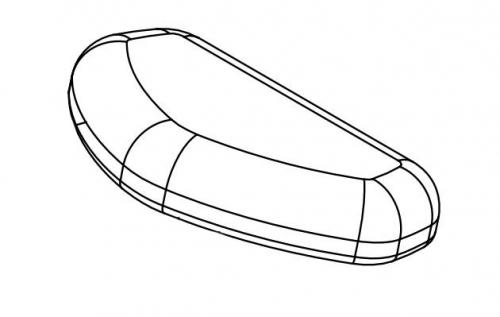 GAB300 подушка сиденье GAB300-PART-I - вид 1