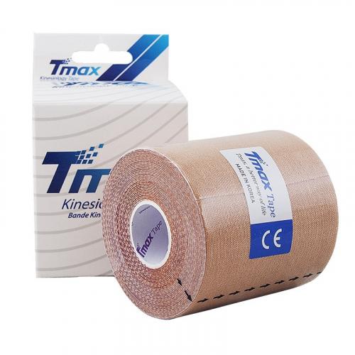 Тейп кинезиологический Tmax Extra Sticky Biege (7,5 см x 5 м), арт. 423914, телесный  - вид 1