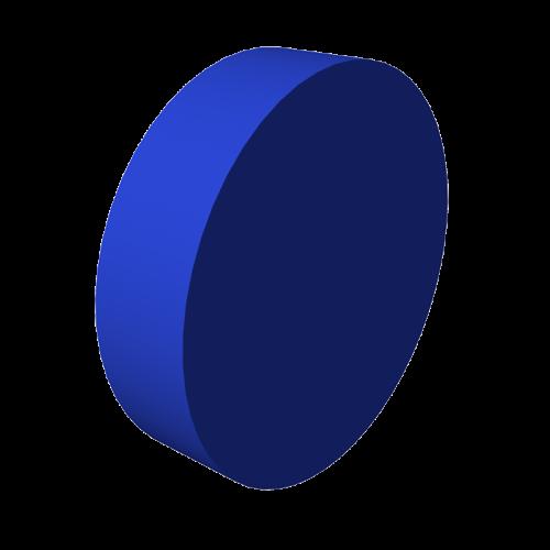 Мягкий модуль цилиндр d 600 ДМФ-ЭЛК-08.09.00 - вид 1