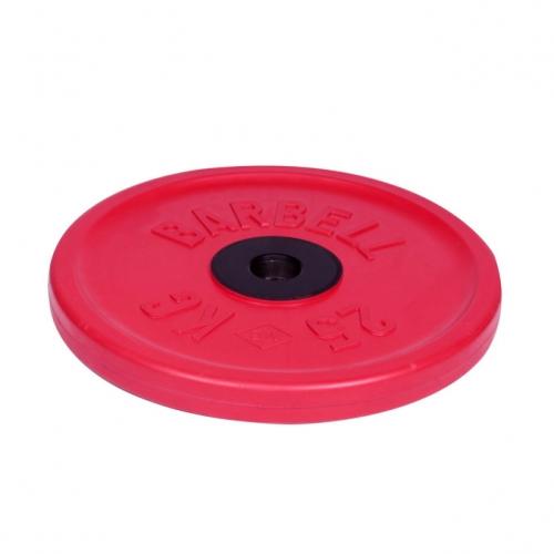 Диск олимпийский Barbell d 51 мм цветной 25 кг 459 - вид 1