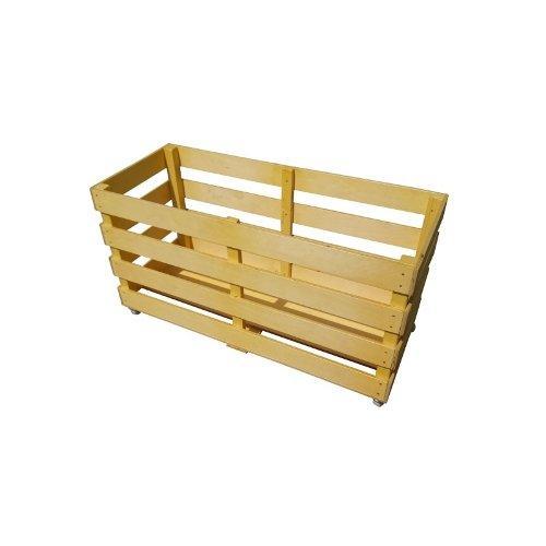 Контейнер (тележка) деревянный для спортинвентаря, на колесах М253 - вид 1