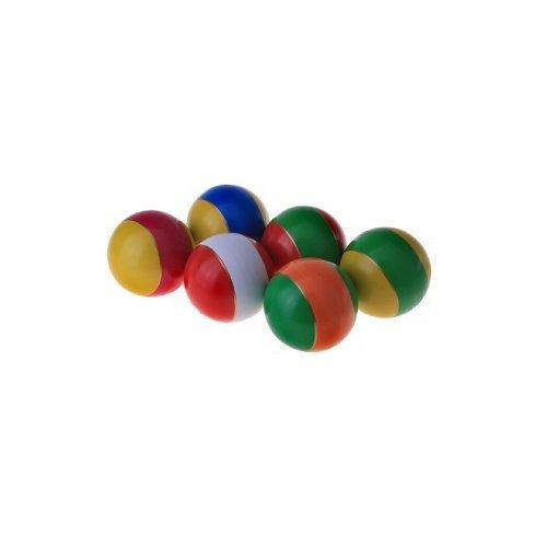 Мячи резиновые (комплект из 5-ти мячей разного размера) 12006 - вид 1