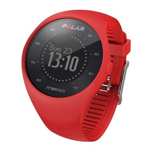 Монитор сердечного ритма POLAR M200, цвет: красный 11008 - вид 1