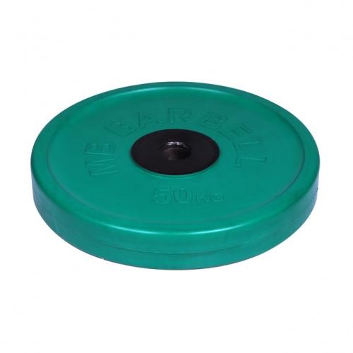Диск олимпийский Barbell d 51 мм цветной 50 кг 461 - вид 1