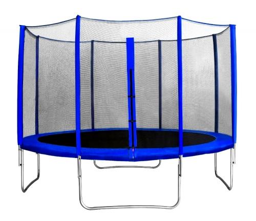 "Батут с защитной сеткой ""Trampoline 12"" диаметр 3,7 м синий SG000005079 - вид 1"