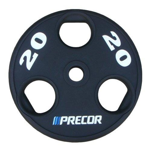 Олимпийский диск в уретане с логотипом Precor FM\UPP, вес 20 кг 10311 - вид 1