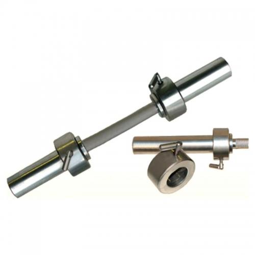Гриф гантельный Barbell d 50 мм металлическая ручка/стопорный L530 мм 599 - вид 1