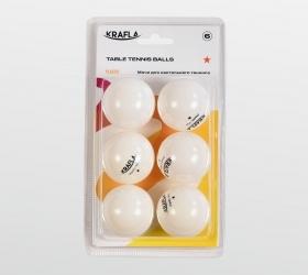 KRAFLA B-WT600 Набор для н/т: мяч одна звезда (6шт) KFL-AQB-WT600 - вид 1