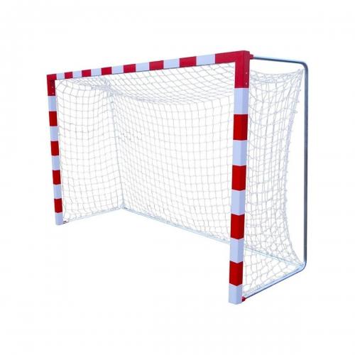 Сетка гандбол мини-футбол Д3,0 мм яч. 100*100 белый Размер 2,00 * 3,00 * 1.0 м ПА 10032 - вид 1