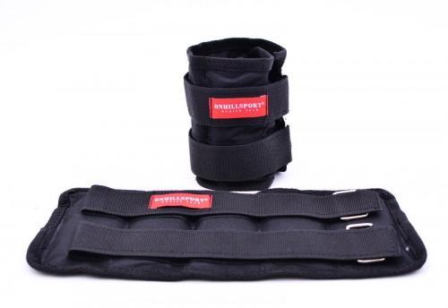 Утяжелители из дроби для рук и ног 2х2 кг, фиксированный вес   UD-003-2 - вид 1