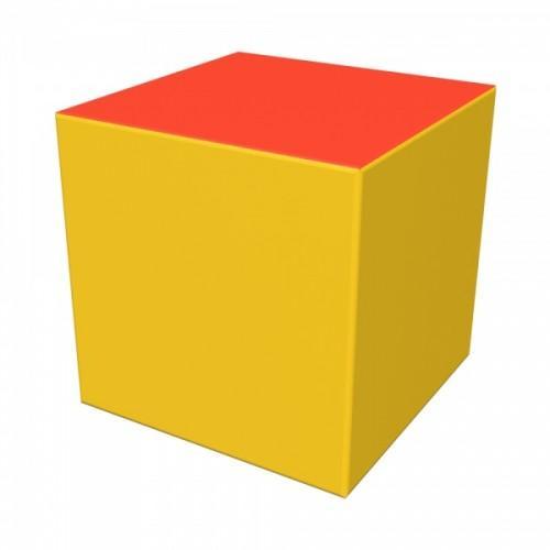 Мягкий модуль Кубик 300x300x300 ДМФ-ЭЛК-01.01.00 - вид 1