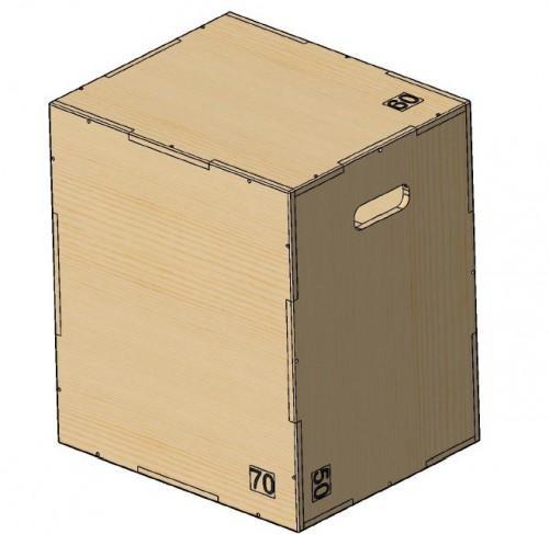 Универсальный PLYO BOX фанера, PROFI-FIT, 3 в 1, 50-60-70см  - вид 1