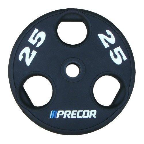 Олимпийский диск в уретане с логотипом Precor FM\UPP, вес: 25 кг 10316 - вид 1