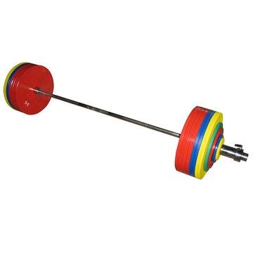 Штанга рекордная для пауэрлифтинга 432,5 кг в наборе 1080 - вид 1