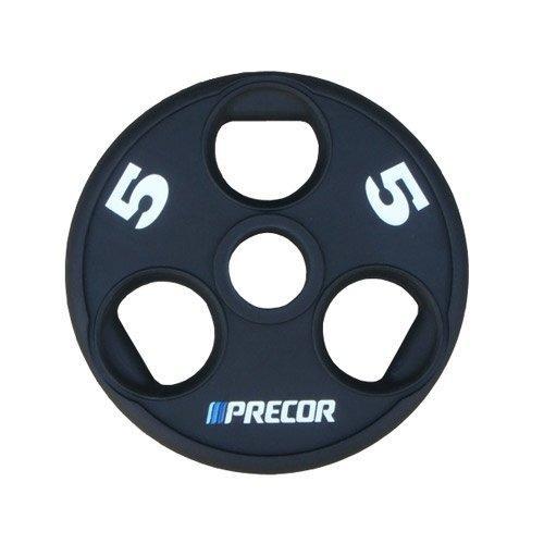 Олимпийский диск в уретане с логотипом Precor FM\UPP, вес: 5 кг 10317 - вид 1