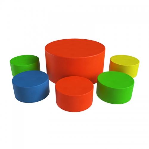 Мягкая мебель Романа 6 элементов ДМФ-МК-06.92.00 детская SG000001227 - вид 1