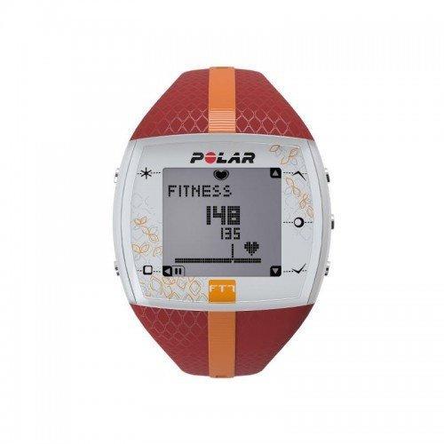 Пульсометр POLAR FT7F цвет: красный/оранжевый 11019 - вид 1