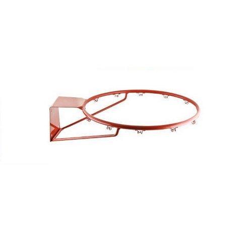 Кольцо баскетбольное труба 16 мм, №7 без сетки М166 - вид 1