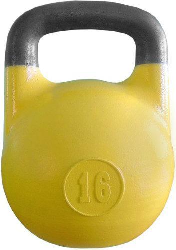 Гиря соревновательная 16 кг Желтая ГС-16 ГС-16 - вид 1
