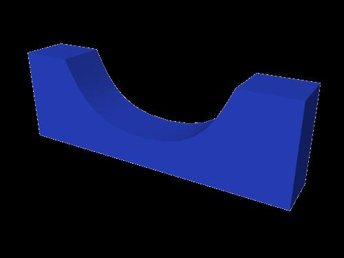 Мягкий модуль 900x300x150 ДМФ-ЭЛК-12.00.01 - вид 1