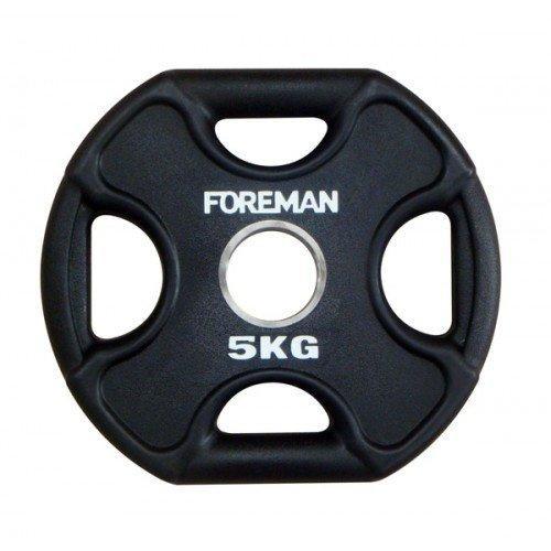 Диск X-Training уретановый FOREMAN FM/UPX-5KG-BK (5 кг) 10322 - вид 1