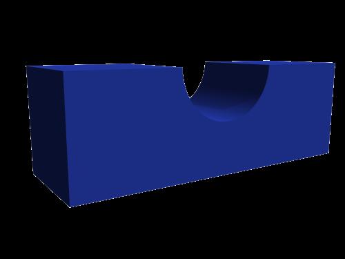 Мягкий модуль 900x300x300 ДМФ-ЭЛК-12.13.01 - вид 1