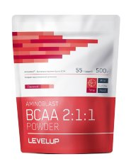 Добавка Level Up AMINOBLAST BCAA Powder 500гр