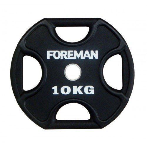 Диск X-Training уретановый FOREMAN FM/UPX-10KG-BK (10 кг) 10323 - вид 1