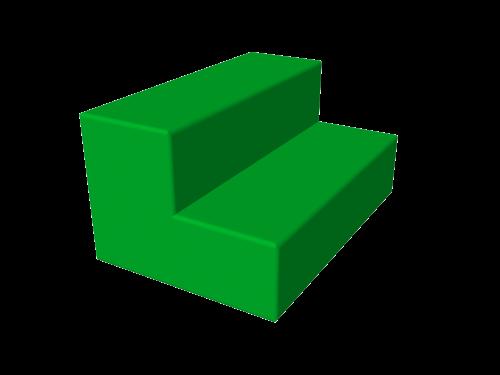 Мягкий модуль 600x300x150x150 ДМФ-ЭЛК-13.01.00 - вид 1