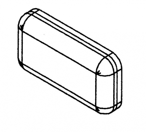 GST20 подушка спинка GST20-PART-E - вид 1