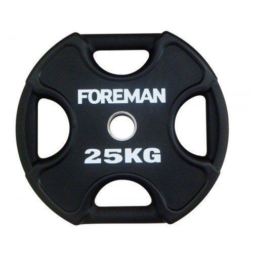 Диск X-Training уретановый FOREMAN FM/UPX-25KG-BK (25 кг) 10326 - вид 1