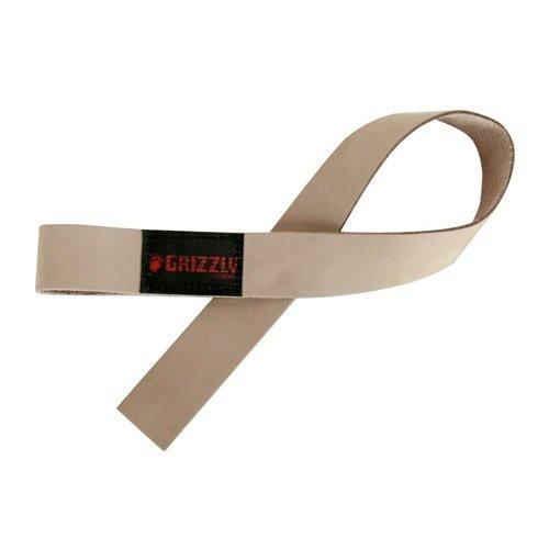 Ремни для тяги Grizzly Fitness Leather Lifting Strap 8640-00, пара