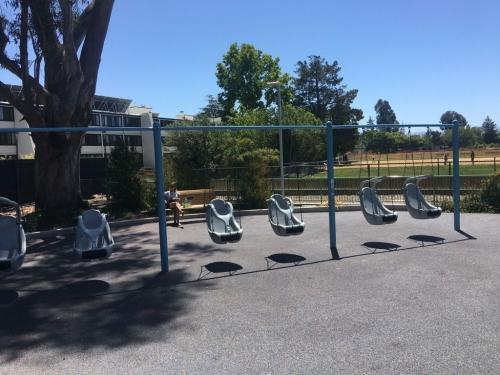 Качели со специальными креслами для детей с ПОДА 34223 - вид 1