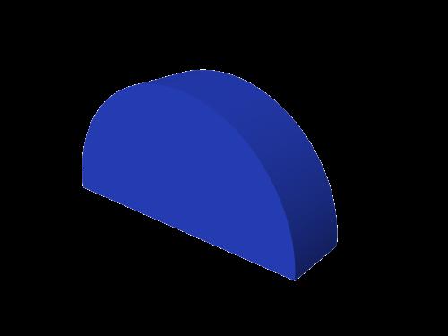 Мягкий модуль 400x200x100 ДМФ-ЭЛК-04.09.00 - вид 1