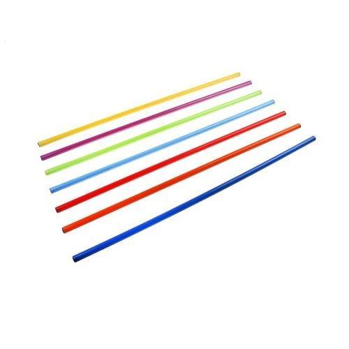 Палка гимнастическая пластиковая 2,4 м 11829 - вид 1
