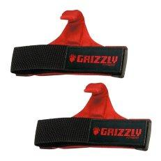 Ремни для тяги с крюком Grizzly Fitness Power Claws Lifting Hooks 8643-04, пара