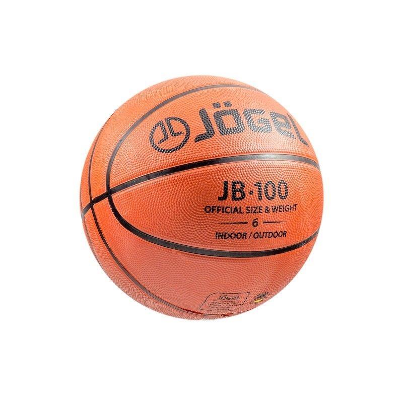 18bcdddb Мяч баскетбольный Jögel JB-100 №6 купить в нашем интернет магазине ...