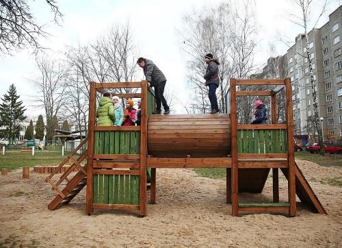 Детский игровой комплекс Двор-3 32716 - вид 1