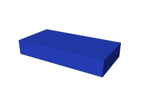 Мягкий модуль 600x300x100 ДМФ-ЭЛК-02.03.02 - вид 1