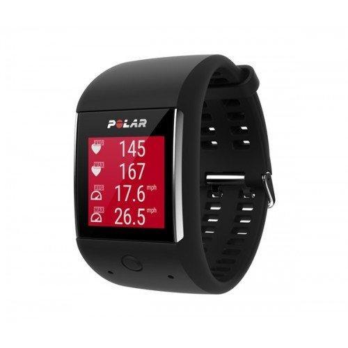 Умные спортивные часы Polar M600, цвет: черный 11037 - вид 1