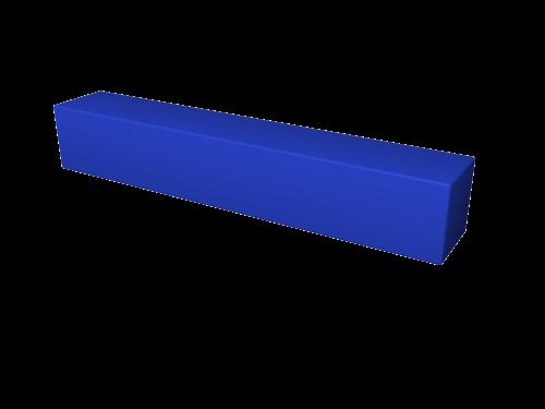 Мягкий модуль 900х150х150 ДМФ-ЭЛК-09.00.01 - вид 1