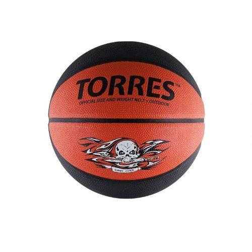 Мяч баскетбольный Torres Game Over №7 11339 - вид 1