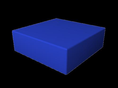 Мягкий модуль 300х300х100 ДМФ-ЭЛК-02.03.01 - вид 1