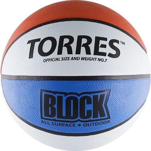 Мяч баскетбольный Torres Block №7 11341 - вид 1