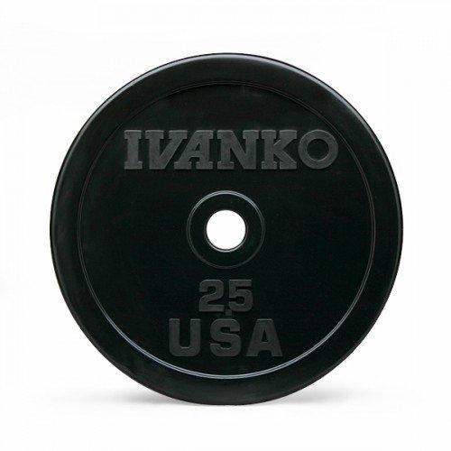 Бампированный обрезиненный диск IVANKO OBP-2,5KG (2,5 кг) 10342 - вид 1