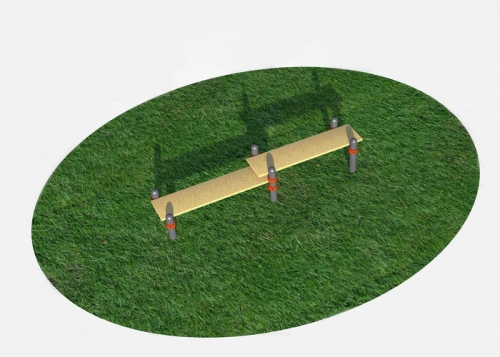 Скамья гимнастическая (двойная) СВС-86 СВС-86 - вид 1