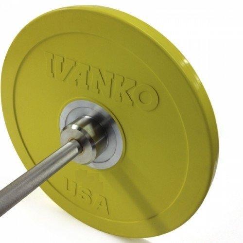 Бампированный обрезиненный диск IVANKO OBP-15KG (15 кг) 10345 - вид 1